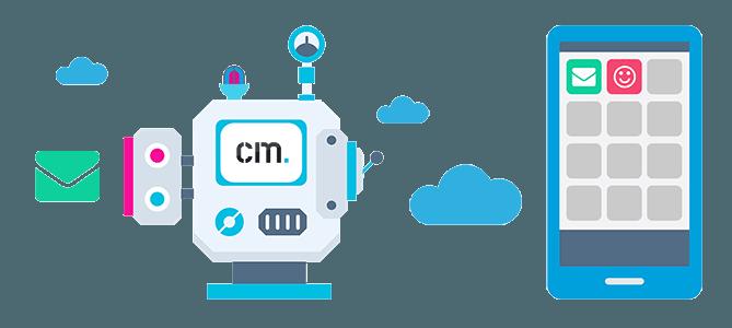 hybrid messaging von cm