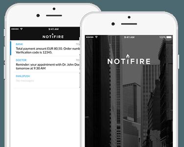 hybrid notifire app von cm