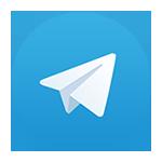 Telegram Logo GIN