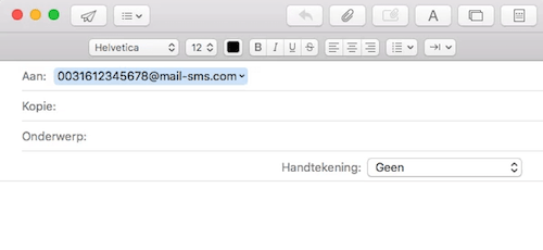 mail sms