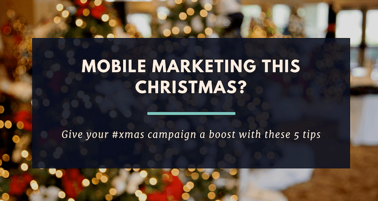 marketing this Christmas