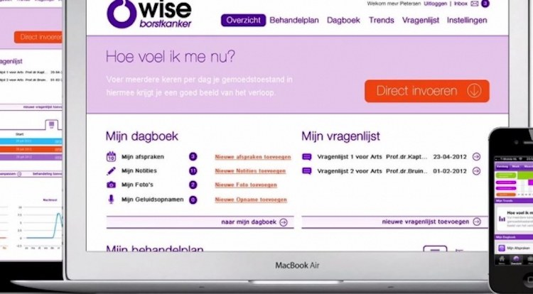 Px Healthcare wint Mobiles for Good Challenge met Owise-app