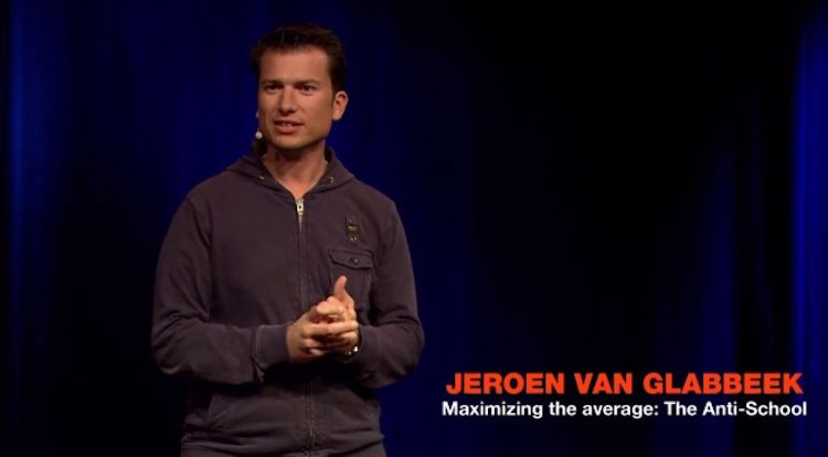The anti-school: Jeroen van Glabbeek speaker at TedxBreda