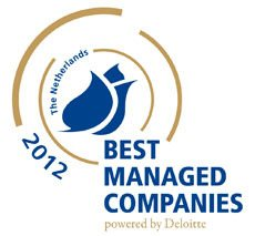 CM bekroond tot Best Managed Company 2012