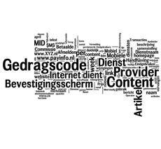 Gedragscode SMS– en Mobiele Betaalde Diensten