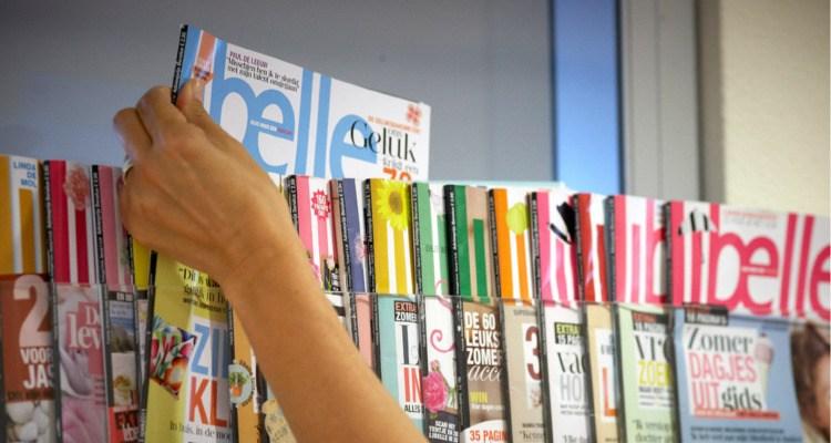 Flex-abonneren printmedia