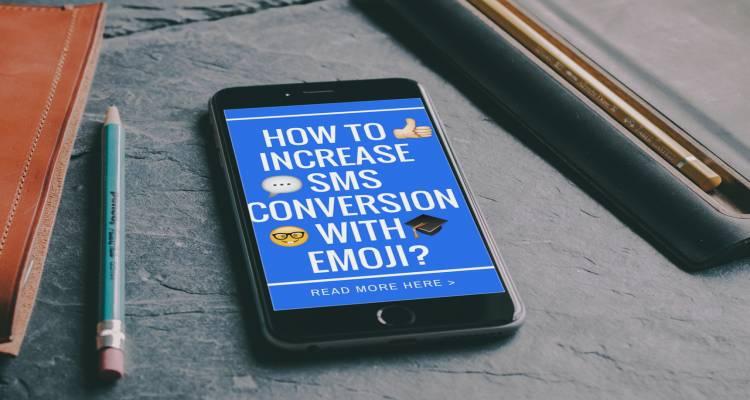 Emoji emoticon sms messaging conversion