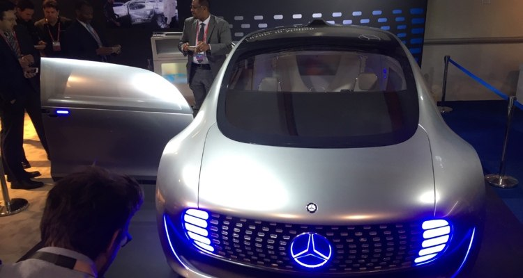 Mercedes Connected Car