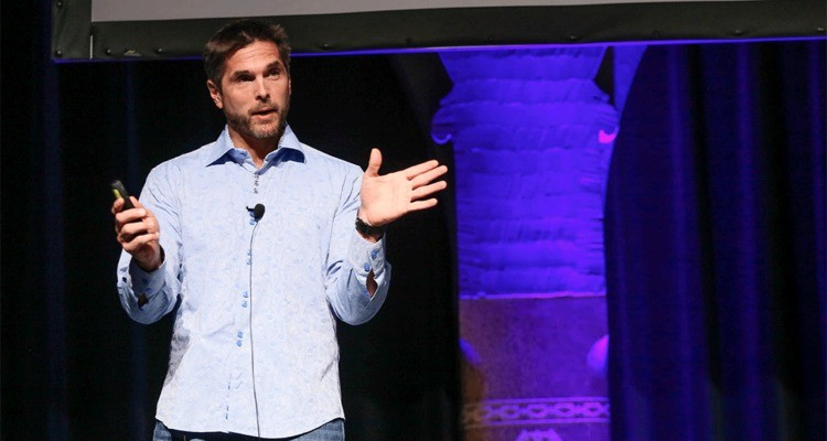 Mark Fidelman at Mobile Convention Amsterdam