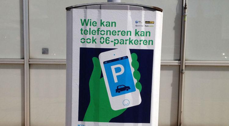 sms parkeren mechelen
