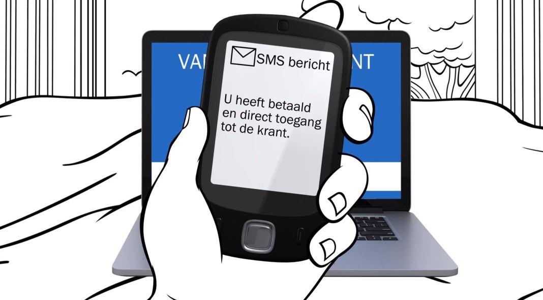 sms betaalmuur