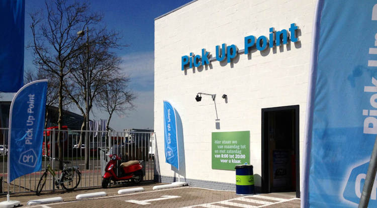 pick up point albert heijn