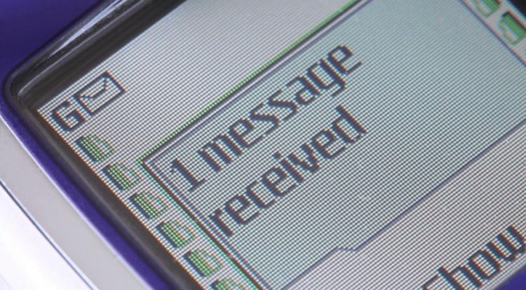 oude mobiele telefoon