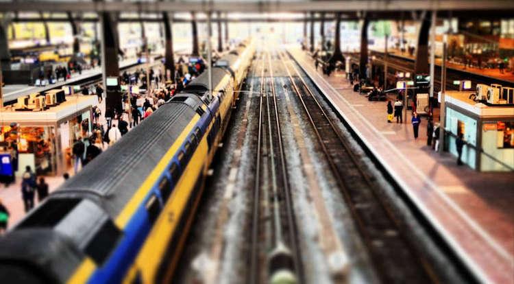 trein meldpunt sms
