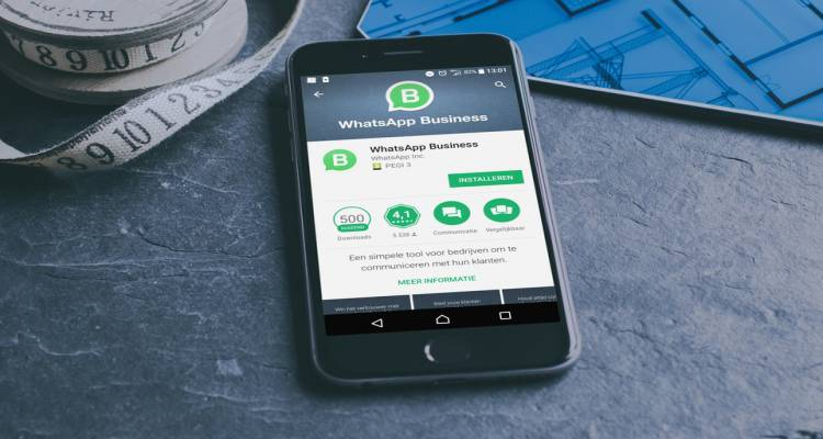 WhatsApp Business mobiele telefoon