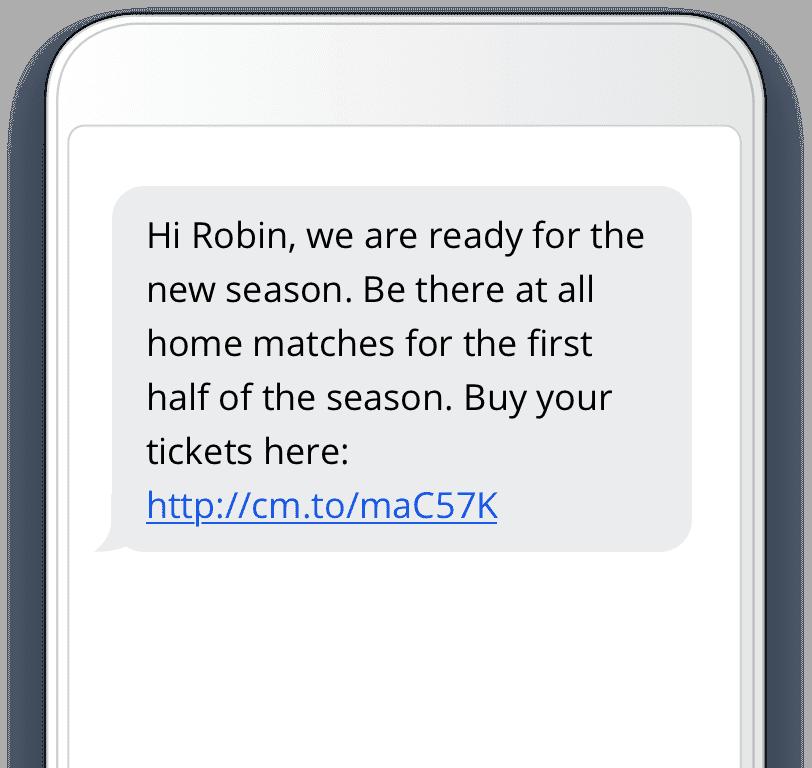 SMS sport cm.com